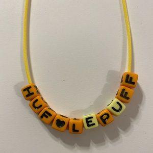 Jewelry - Hufflepuff Harry Potter necklace